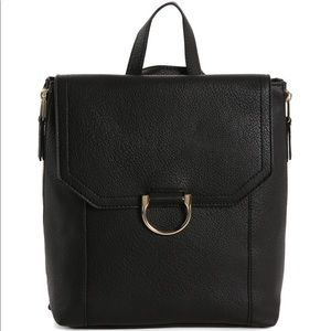 Sole Society Emmett Backpack - Black color